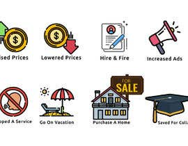 #57 cho Need nicer looking icons bởi Shafik25
