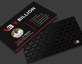 Nro 58 kilpailuun V.BILLION Business Card - 30/10/2020 01:34 EDT käyttäjältä twinklle2