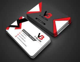 Nro 75 kilpailuun V.BILLION Business Card - 30/10/2020 01:34 EDT käyttäjältä sresohag91