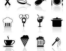 #26 for Restaurant Icon set by fozlerabbicpa