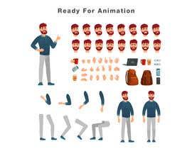 Nro 33 kilpailuun make an animation character käyttäjältä abdelali2013