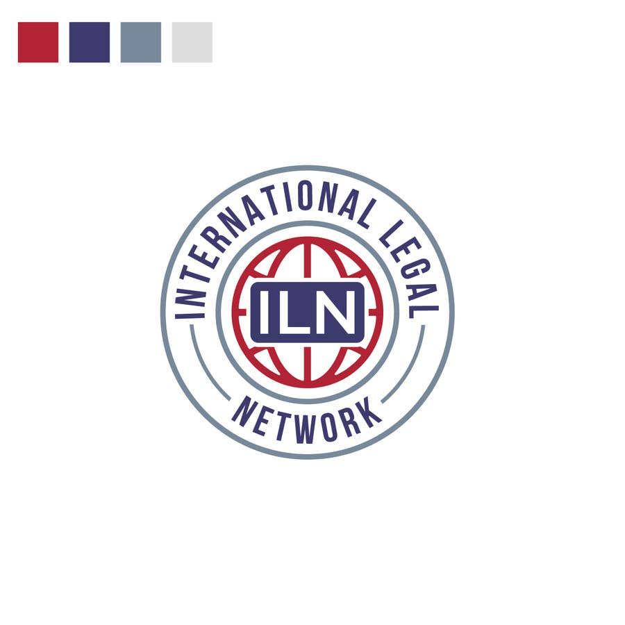 Konkurrenceindlæg #                                        561                                      for                                         Logo for international law firm