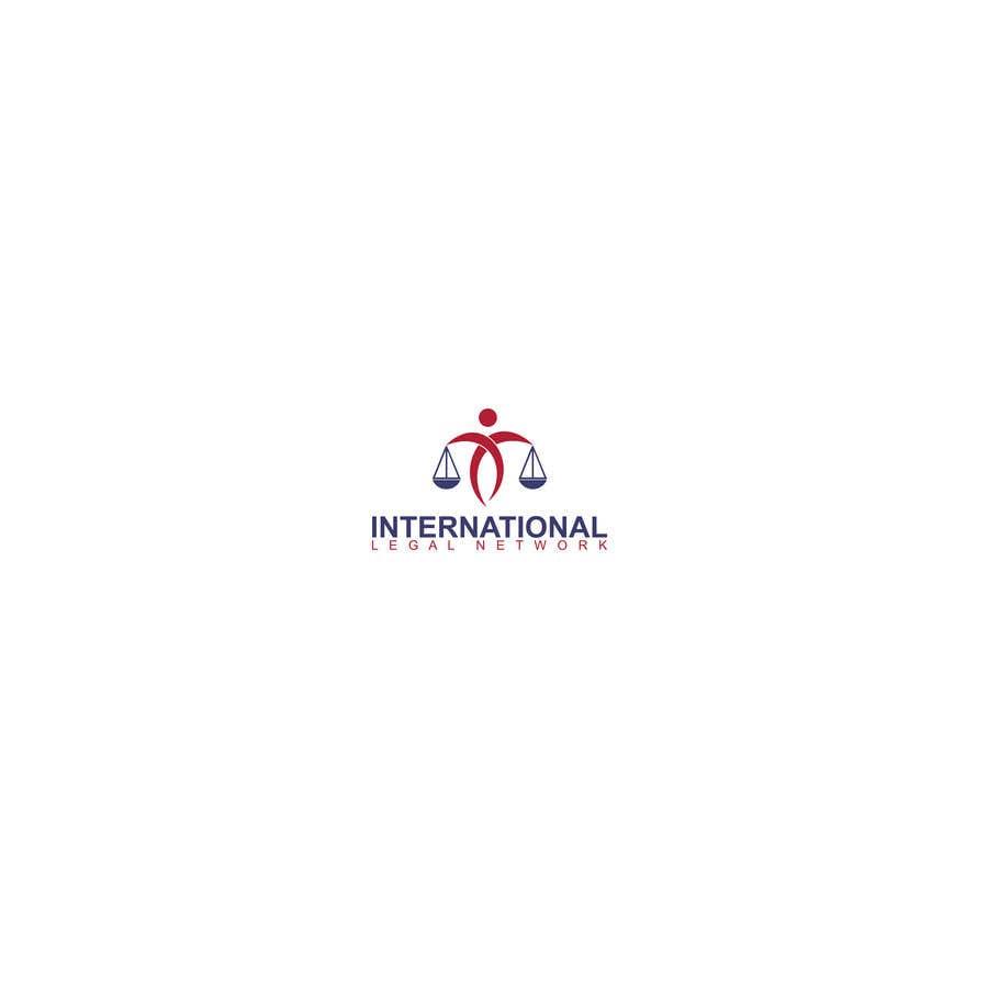 Konkurrenceindlæg #                                        305                                      for                                         Logo for international law firm