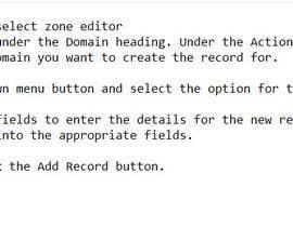 Nro 2 kilpailuun Need to add DNS domain records into cpanel käyttäjältä XimNewaz