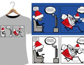 #25 for Design for T-Shirt/Hoodie (funny christmas 2020 with my company's figure) af shamima2008