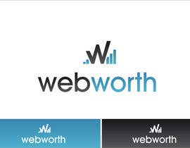 #37 para Logo Design for WebWorth por Grupof5