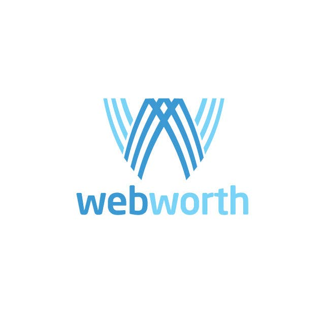 #248 for Logo Design for WebWorth by dyymonn
