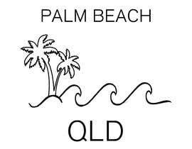 #10 for Minimalist t-shirt design - Wave and Palm Tree - Black and white - basic af andreyrochasilva