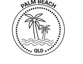 #147 for Minimalist t-shirt design - Wave and Palm Tree - Black and white - basic af rubinarupu91