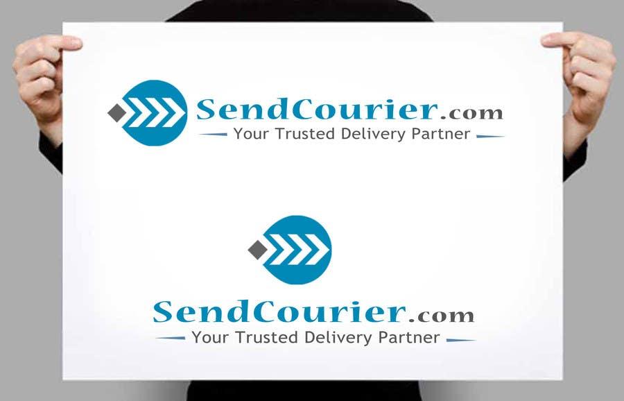 """Konkurrenceindlæg #12 for Design a Logo for our website """"sendcourier.com"""""""