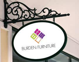 #129 untuk Design a Logo for Burden Furniture oleh syrwebdevelopmen