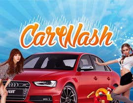 #18 para Design a Banner for Car Wash de ZISGraphics