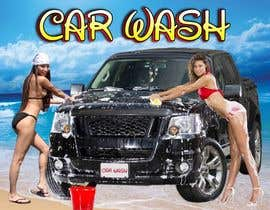 #11 para Design a Banner for Car Wash de clickcreative