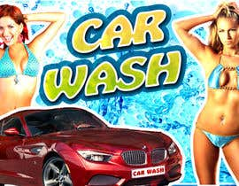 #1 para Design a Banner for Car Wash de iulian4d