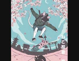#581 for Neko Ninja Contest (Japanese Cat Ninja) by bujildei