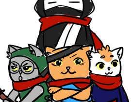 #575 for Neko Ninja Contest (Japanese Cat Ninja) by gurinrabitto