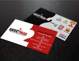 #18 for Design some Business Cards for Gate2Iraq Group by GhaithAlabid