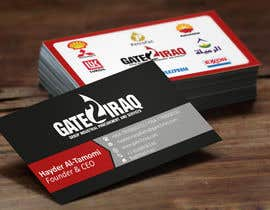 #24 for Design some Business Cards for Gate2Iraq Group by GhaithAlabid