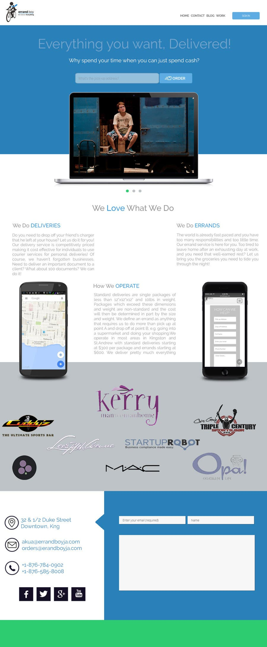 Contest Entry #                                        1                                      for                                         Design a website mockup for a software company