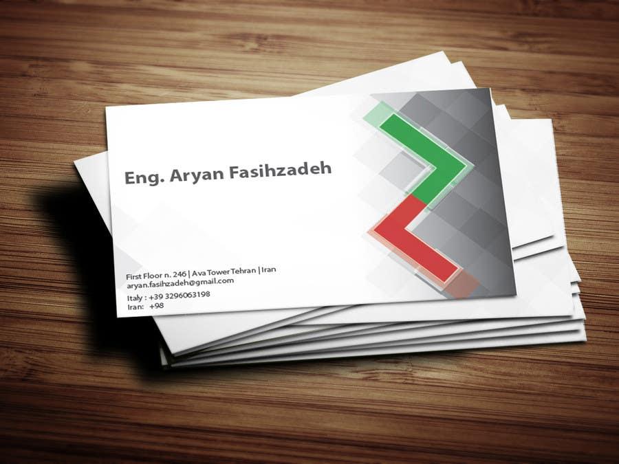 Entri Kontes #                                        39                                      untuk                                        Design some Business Cards