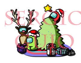 #12 for Design a Christmas and Among Us Themed Image af SGuio
