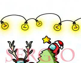 #27 for Design a Christmas and Among Us Themed Image af SGuio
