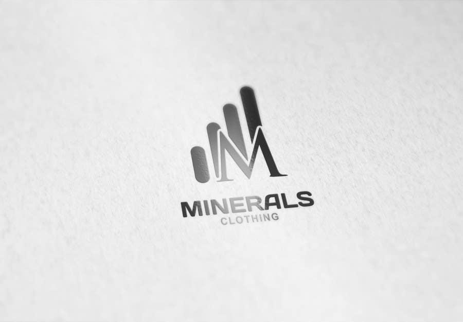 Konkurrenceindlæg #239 for Design a Logo for Minerals Clothing