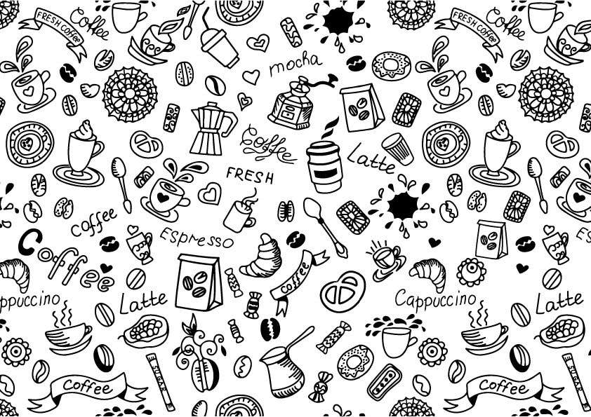 Proposition n°                                        22                                      du concours                                         Artwork design for textile pattern