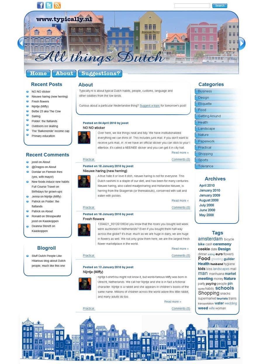 Inscrição nº                                         23                                      do Concurso para                                         Website Design for typically.nl
