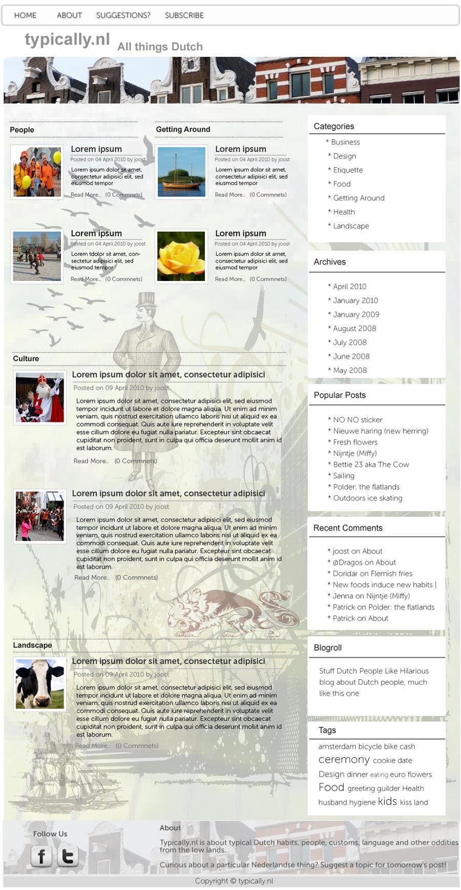 Inscrição nº                                         14                                      do Concurso para                                         Website Design for typically.nl