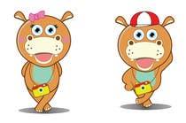 Illustration for a company mascot. [Hippo] için Graphic Design18 No.lu Yarışma Girdisi