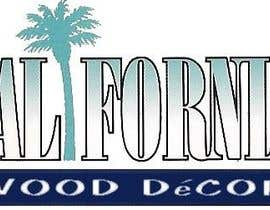 #52 za Design a Logo for California Wood Decor od abdoualarcon