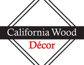 #53 za Design a Logo for California Wood Decor od scchowdhury