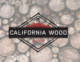 DesignDock tarafından Design a Logo for California Wood Decor için no 20