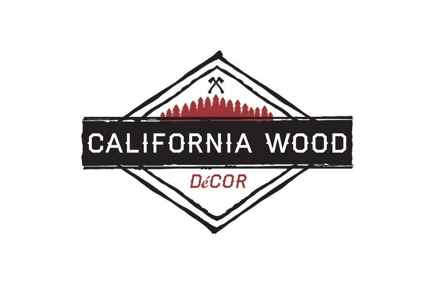 Konkurrenceindlæg #                                        25                                      for                                         Design a Logo for California Wood Decor