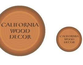 #39 para Design a Logo for California Wood Decor de agnye