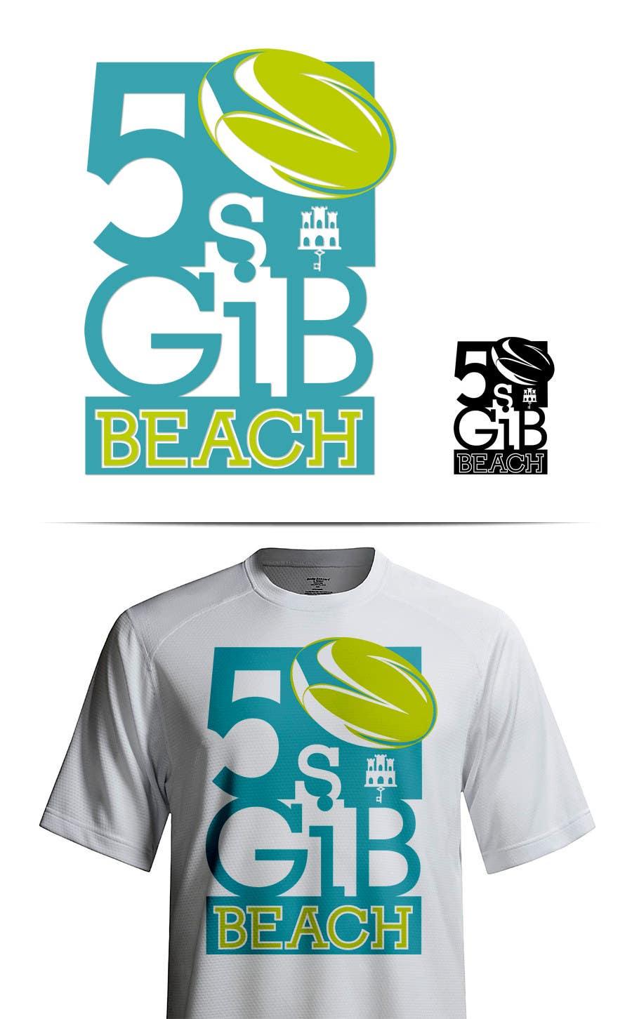 Kilpailutyö #7 kilpailussa Design a Logo for Beach Rugby - Use your imagination!