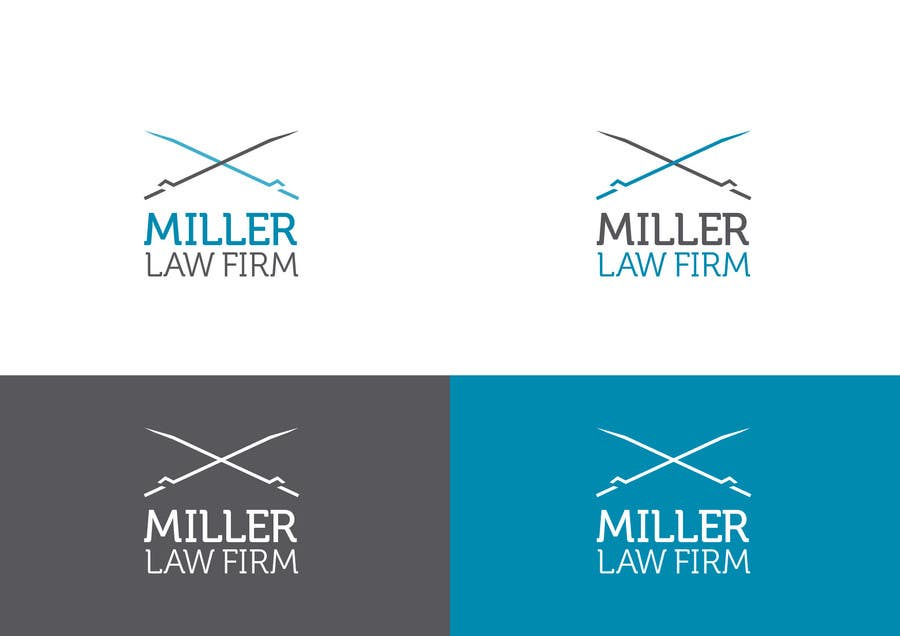 #43 for Logo Design for Miller Law Firm by humphreysmartin