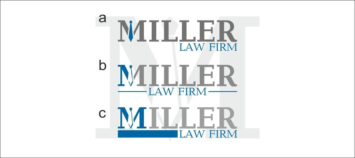 Konkurrenceindlæg #                                        51                                      for                                         Logo Design for Miller Law Firm
