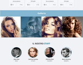 #7 for One page website for hair salon by bahrul221
