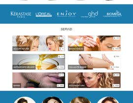 Nambari 3 ya One page website for hair salon na VictorSitnic
