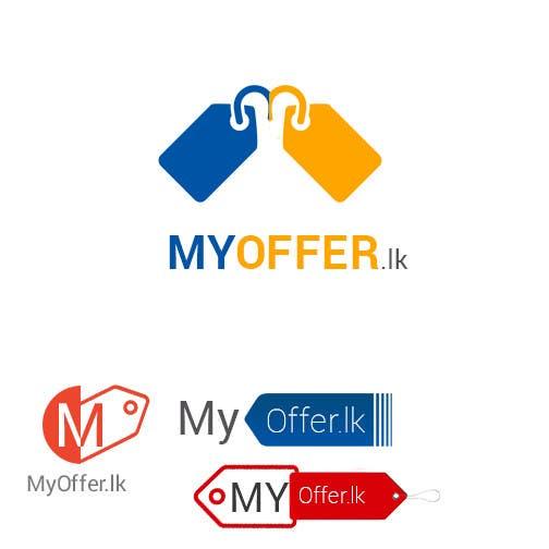 Konkurrenceindlæg #                                        29                                      for                                         Design a Logo for website :www.MYOFFER.LK