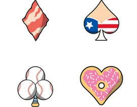 nº 5 pour spade, heart, flower, diamond design par JohnGaltTeam