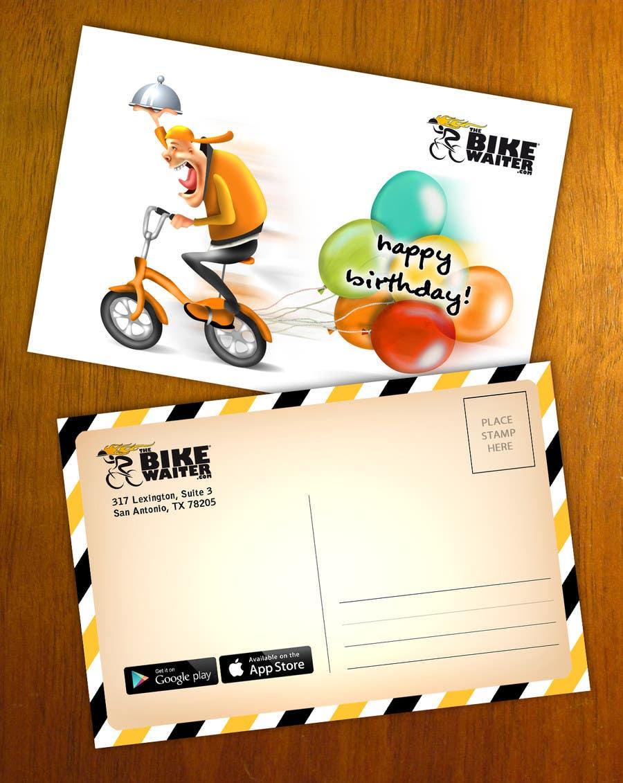 Bài tham dự cuộc thi #18 cho Design a Happy Birthday postcard for our customers