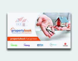 Nro 97 kilpailuun Propertybook has grown Banner käyttäjältä saiful1818