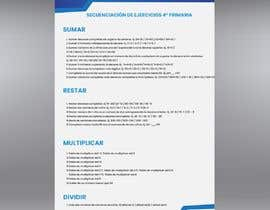 #17 for Graphic designer is needed to create a 2 page list design of math exercises. by haseebmughal0
