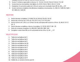 #7 for Graphic designer is needed to create a 2 page list design of math exercises. by Asaduddin188