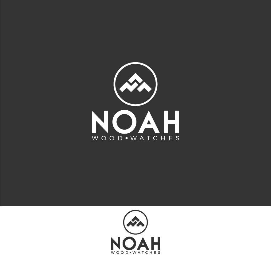 Contest Entry #238 for Redesign a Logo for wood watch company: NOAH