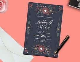 #63 cho Design a Wedding Invitiation Card bởi Rezzakul1