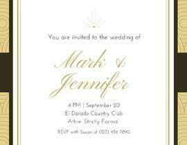#1 cho Design a Wedding Invitiation Card bởi madamalice